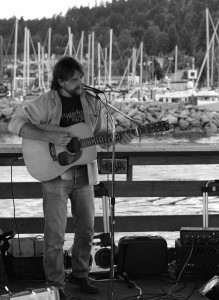 On the Pier in Gibsons Landing BC